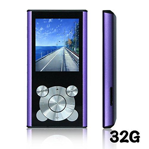 Tomameri Purple 16GB Portable MP4 Player MP3 Player Video - Import It All