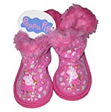 GIRLS SLIPPERS BOOT PEPPA PIG SIZE 4-9