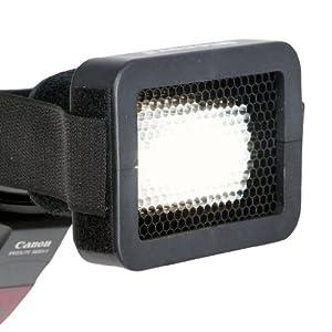 "Opteka OSG16 1/6"" Universal Honeycomb Grid for External Camera Flashes (Black)"