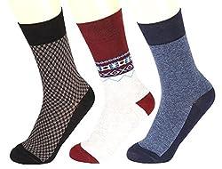 Abracadabra Men's Long Socks (Pack Of 3) (DNCS15012_Multi)