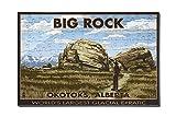 Big Rock - Okotoks, Alberta - World's Largest Glacial Erratic (12x18 Premium Acrylic Puzzle, 130 Pieces)