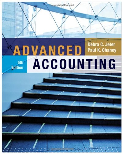 Advanced Accounting (Chaney Electronics compare prices)