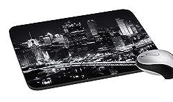 meSleep Dark city Mouse Pad