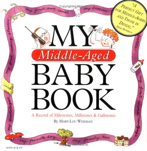 Image for My Middle-Aged Baby Book: A Record of Milestones, Millstones & Gallstones