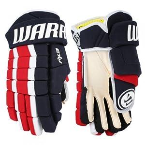 Warrior Dynasty AX3 Senior Hockey Glove-Black 14 by Warrior