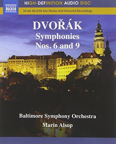 Dvorak: Symphony Nos. 6 and 9 (Blu Ray Audio)