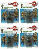 1:35 Combat Figure Series 6 German Infantry Hg Anzio 1944 Set Of 4 フィギュア 人形 おもちゃ (並行輸入)イメージ