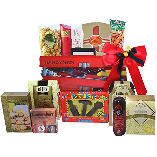 Art of Appreciation Gift Baskets Handyman's Toolbox of Treats Gift Tote (Gift Basket Men compare prices)