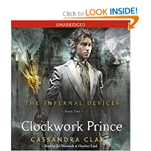 The Clockwork Prince (The Infernal Devices 2) - Cassandra Clare