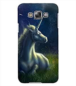 ColourCraft Fantasical Horse Design Back Case Cover for SAMSUNG GALAXY GRAND 3