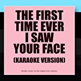 Karaoke - Ameritz The First Time Ever I Saw Your Face - Karaoke Version