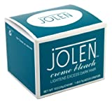JOLEN 1oz or 30 ml CREME BLEACH REGULAR LIGHTENS EXCESS DARK HAIR