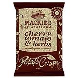 #10: Mackie's of Scotland Cherry Tomato and Herbs Potato Crisps 40 g (Pack of 24)