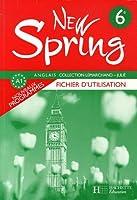 New Spring Anglais 6e : Fichier d'utilisation