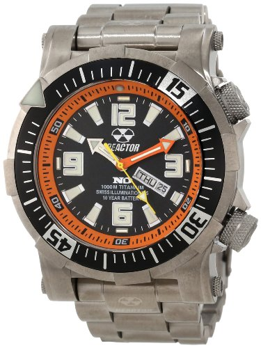 REACTOR Men's 54008 Poseidon Ti 1000M Titanium Automatic Watch