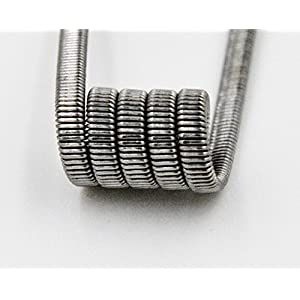 Pre-built Fused Clapton Coil 10pc.