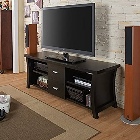 Henrichsen TV Console with Double Drawers
