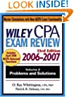Wiley CPA Examination Review 2006-2007, Vol. 2: Problems and Solutions, 33rd Edition