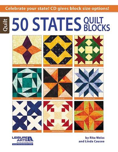 50 States Quilt Blocks