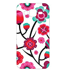 Happoz Samsung Galaxy J2 (J210) (2016) Cases Back Cover Mobile Pouches Patterns Floral Flowers Premium Printed Designer Cartoon Girl 3D Funky Shell Hard Plastic Graphic Armour Fancy Slim Graffiti Imported Cute Colurful Stylish Boys Z019