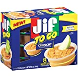 JIF To Go Crunchy Peanut Butter Cups, 1.5 oz, 8 count