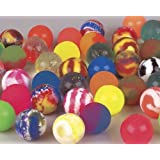 1 Dozen 60mm Assorted Colored Super Bouncy Ball