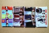 Wholesales 4pcs One Direction 1d fashion hard back cover skin case for Apple ipod touch 4 4th generation-it4od4030