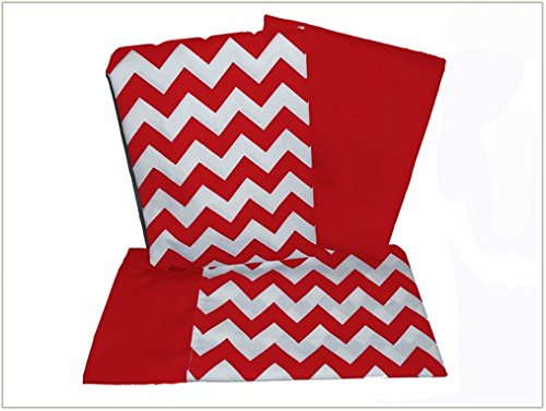 Red Toddler Bedding 9205 front