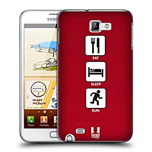 Snap-on Hard Back Case Cover for Samsung Galaxy Note N7000 I9220