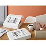 3 X Avery Shipping Labels with TrueBlock Technology, Inkjet Printers, 5.5 x 8.5 Inches, White, Pack of 50 (8126)