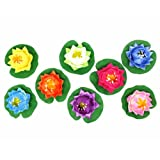 Floating Lotus Flower, Small (A Set of 8)
