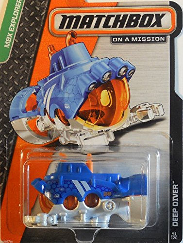 2014 Matchbox MBX Explorers - Deep Diver - 1