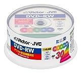 ビクター 映像用DVD-RW デジタル録画対応 2倍速 カラーミックス 30枚 VD-W120P30X