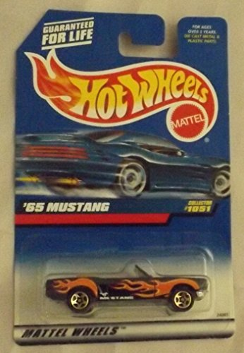 1998 Mattel Hot Wheels '65 Mustang Collector # 1051 - 1