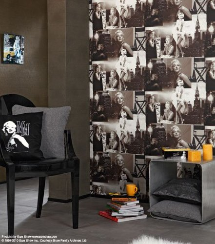 pics photos marilyn monroe wallpaper for bedroom the marilyn collection ebony value city furniture monroe