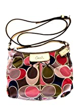 Hot Sale COACH AHSLEY SCARF PRINT SWINGPACK 48046