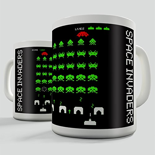 Space Invaders Retro Gift Mug