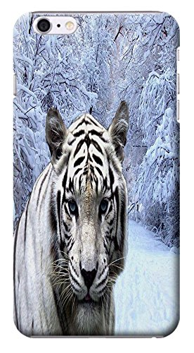 Huahui White And Yellow Tiger Design Hard Back Case Cover Cell Phone Cases For Iphone 6 # 13