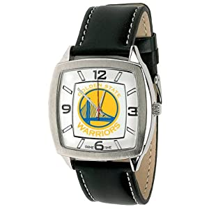 NBA Mens NBA-RET-GOL Retro Series Golden State Warriors Watch by Game Time