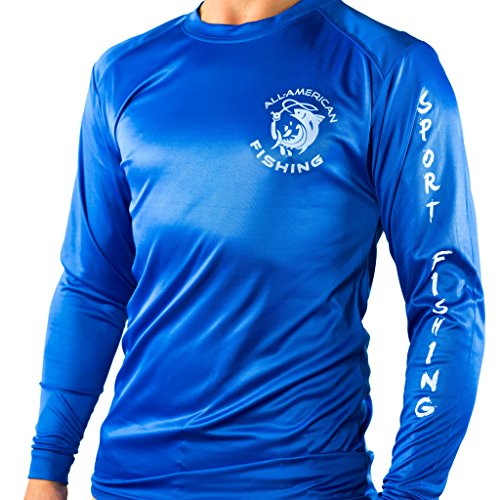 All american fishing dri fit shirt active outdoor for Dri fit fishing shirts