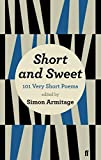 Short and Sweet (0571278728) by Armitage, Simon
