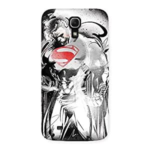 Gorgeous Steel Power Multicolor Back Case Cover for Galaxy Mega 6.3