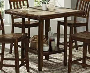 Woodbridge Home Designs Tiling Counter Height Table with Tile Top