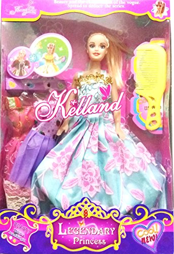 TOY MART TOYMART DOLL SET LIKE BARBIE WITH DRESSES AND ACCESSORIES