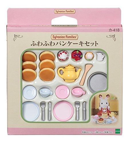 1 X Sylvanian Families Furniture fluffy pancake set - 1