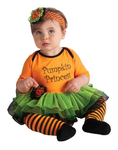 First Halloween Pumpkin Princess Costume