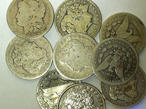 Morgan Dollar Cull 1878-1904 $1 Fair Details