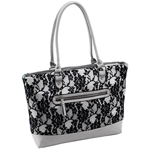 Parinda-Womens-Aaryn-Fabric-With-Faux-Leather-Tote