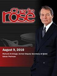 Charlie Rose - Richard Armitage / Itzhak Perlman (August 9, 2010)