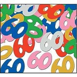 Fanci Fetti 60 Silhouettes (Multi Color) Party Accessory (1 Count) (.5 Oz/Pkg)
